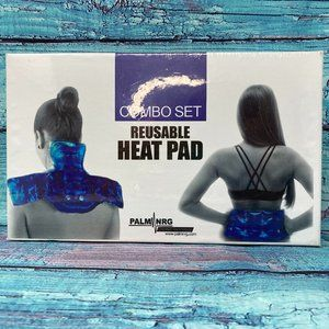 Clickable Reusable Heat Pad Back and Neck Warmer